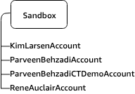 Sandbox OU with individual developer accounts