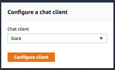 Chat client configuration
