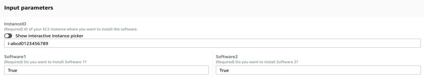 Automation Document Configuration