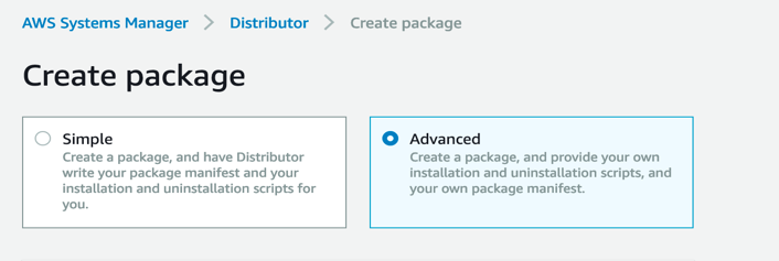 Distributor Package Creation
