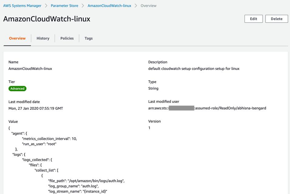 CloudWatch Linux Configuration