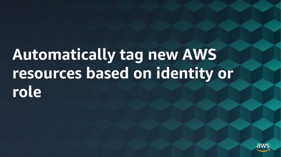 Automatically tag new AWS resources based on identity or role - RapidAPI