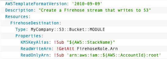 CloudFormation Module Code