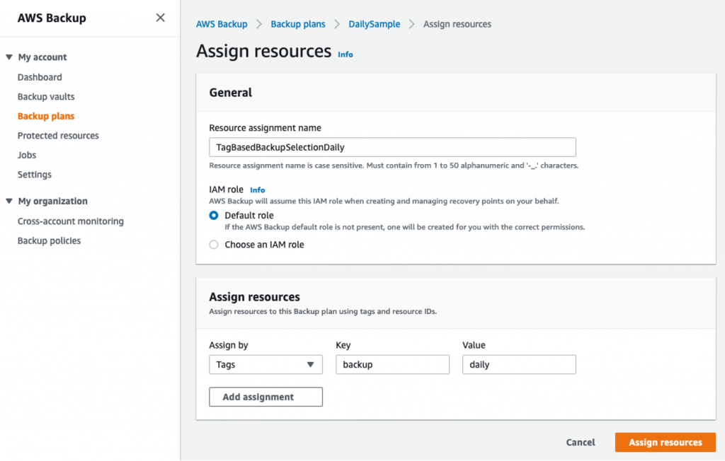 Automate AWS Backups with AWS Service Catalog