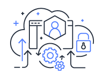 automated operations cloud operating model icon