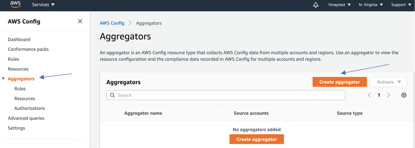 Set up an organization-wide aggregator in AWS Config using a delegated administrator account