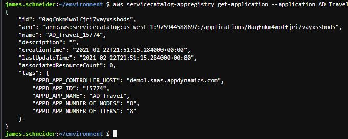 AppD AppRegistry Get Application Screen Final 1