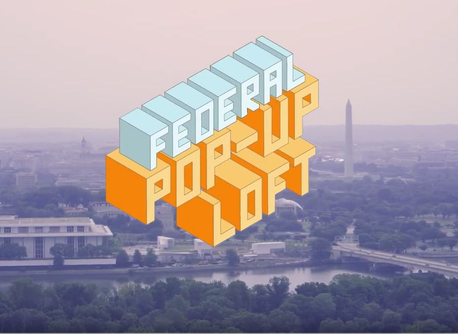 AWS Federal Pop Up Loft logo