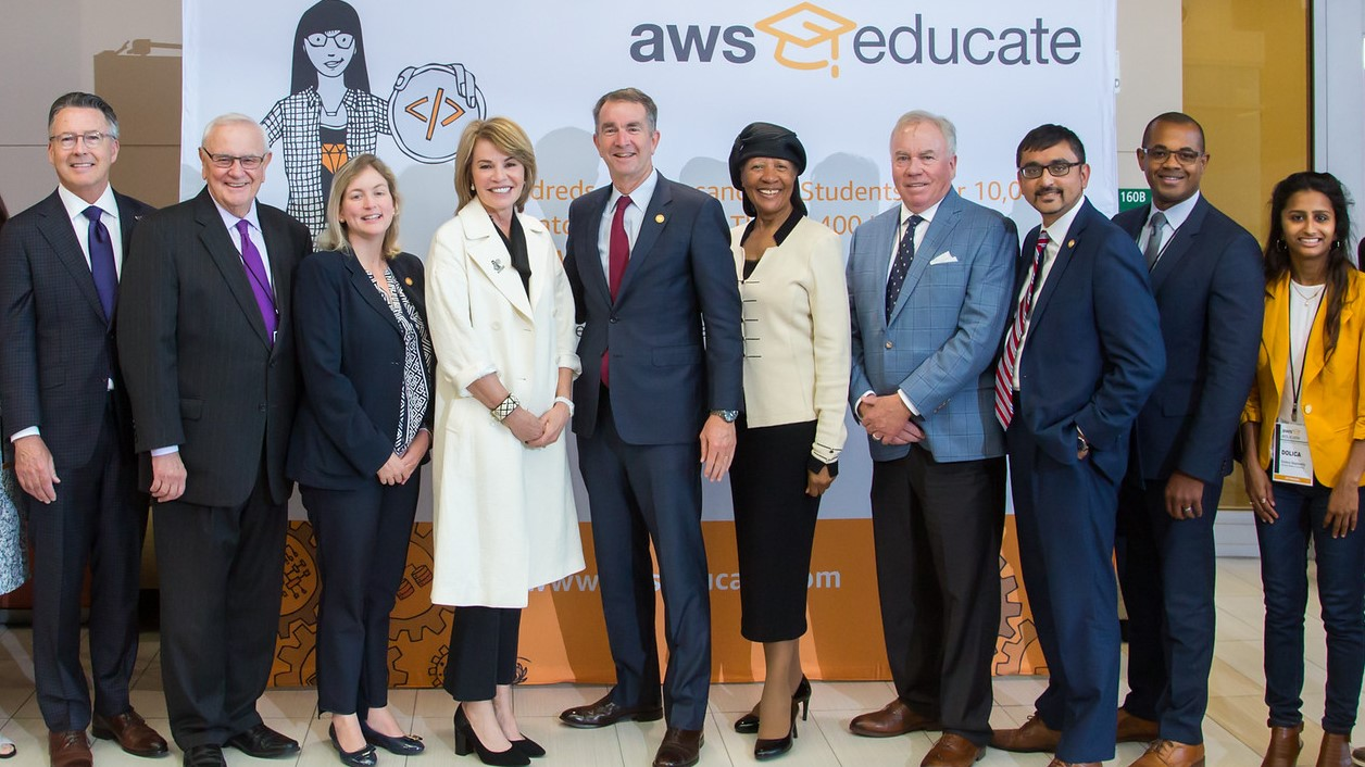 AWS Educate collaborates with Virginia on statewide cloud