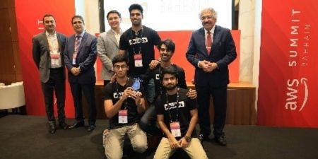 AI hackathon Bahrain winning team