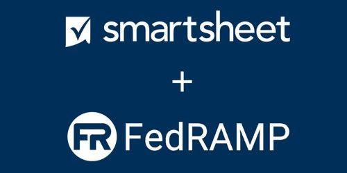 Smartsheet + FedRAMP logos