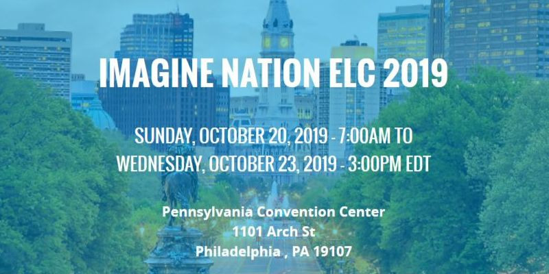 Imagine National ELC 2019 information