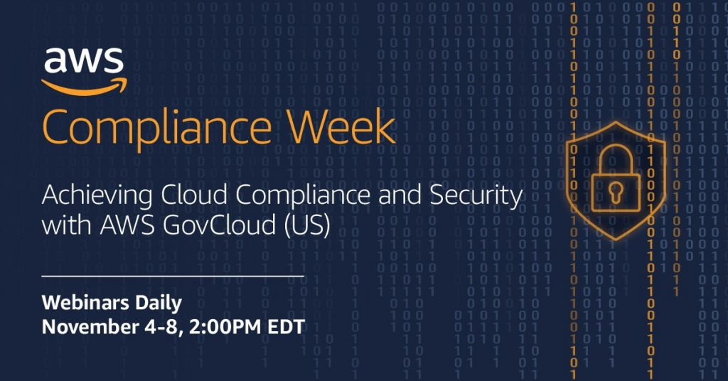 AWS Compliance Week details