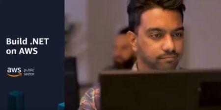 Dot net guy at computer