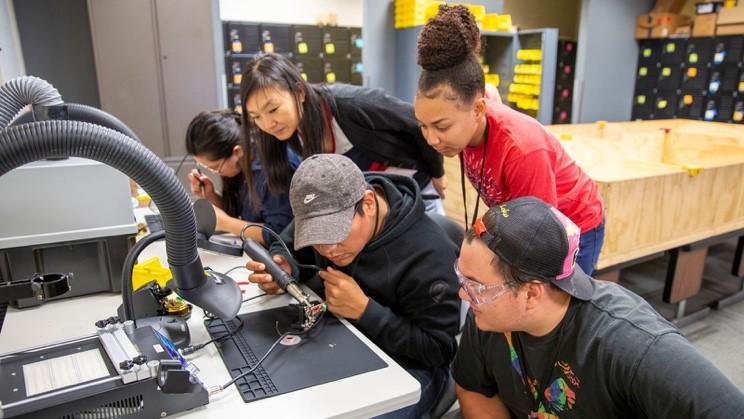 Arizona Robo Hackathon; photo courtesy Erika Gronek, ASU