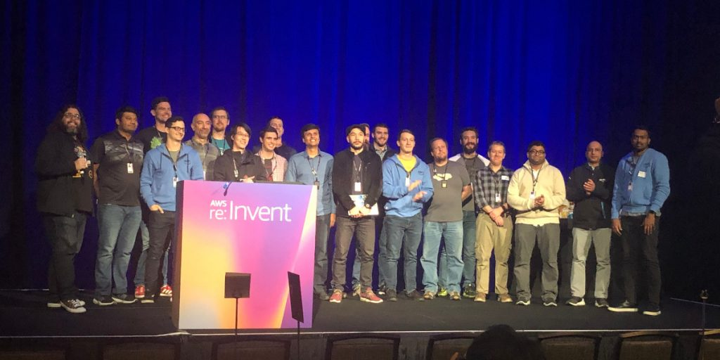 re:Invent 2019 hackathon for good finalists