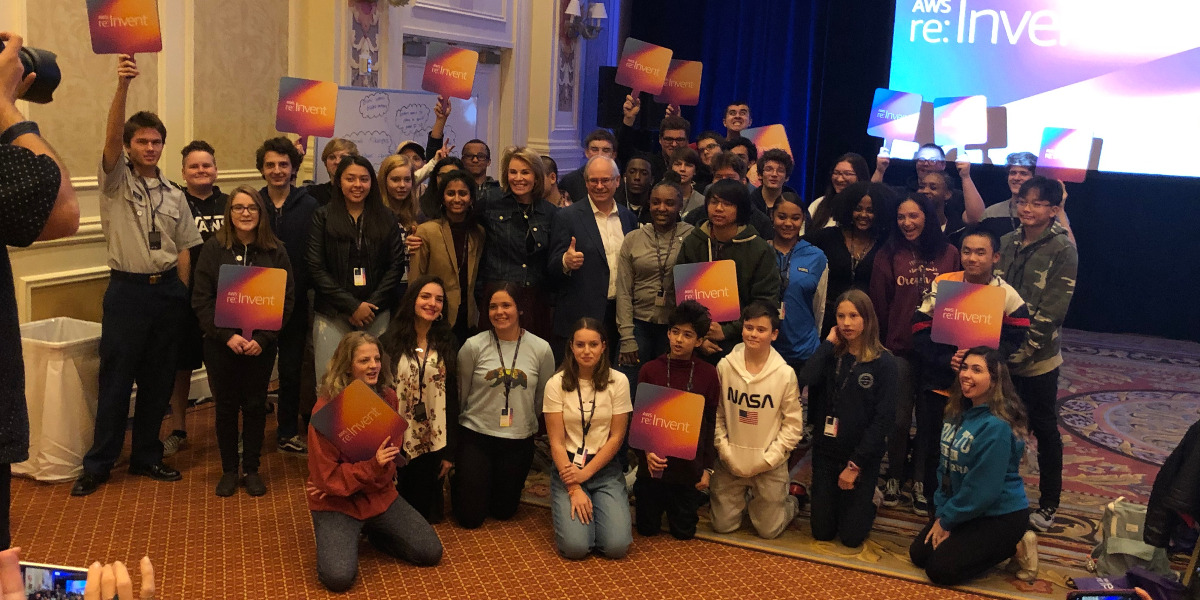 Las Vegas high school students participate in the AWS Field Trip to learn cloud computing