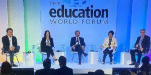 Education World Forum panel AWS Andrew Ko