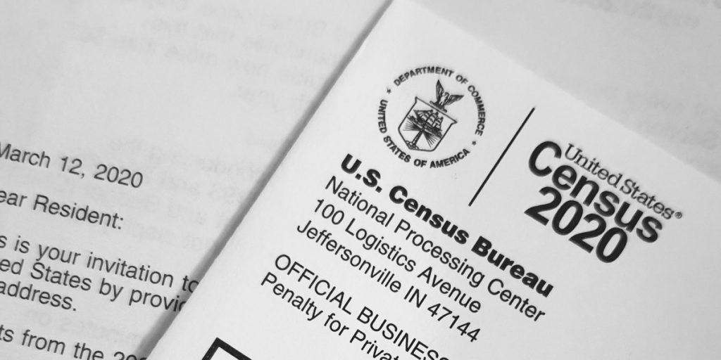 US Census 2020 mailer