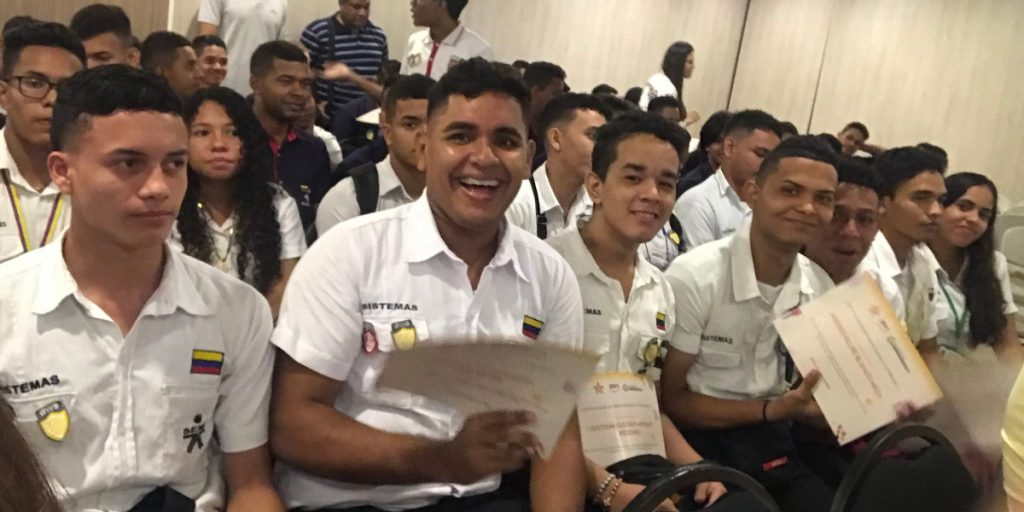 SENA Colombia AWS Educate graduation