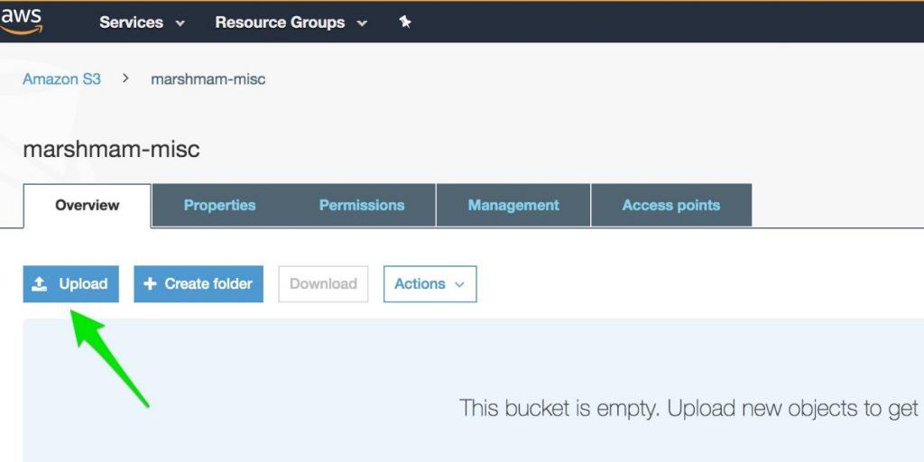 Uploading to Amazon S3 via AWS GovCloud (US)