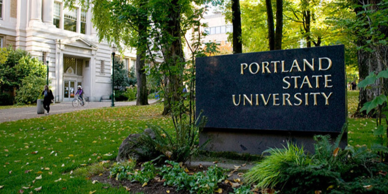PSU external shot sign