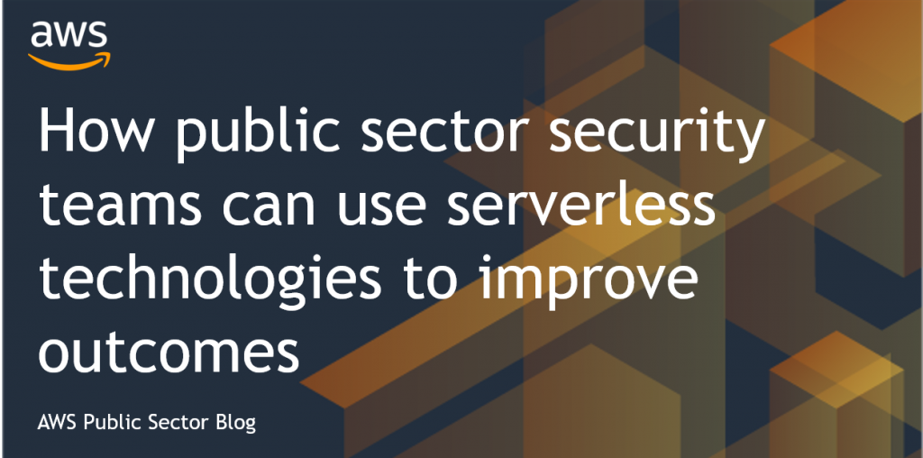 Public sector security serverless - Darren House