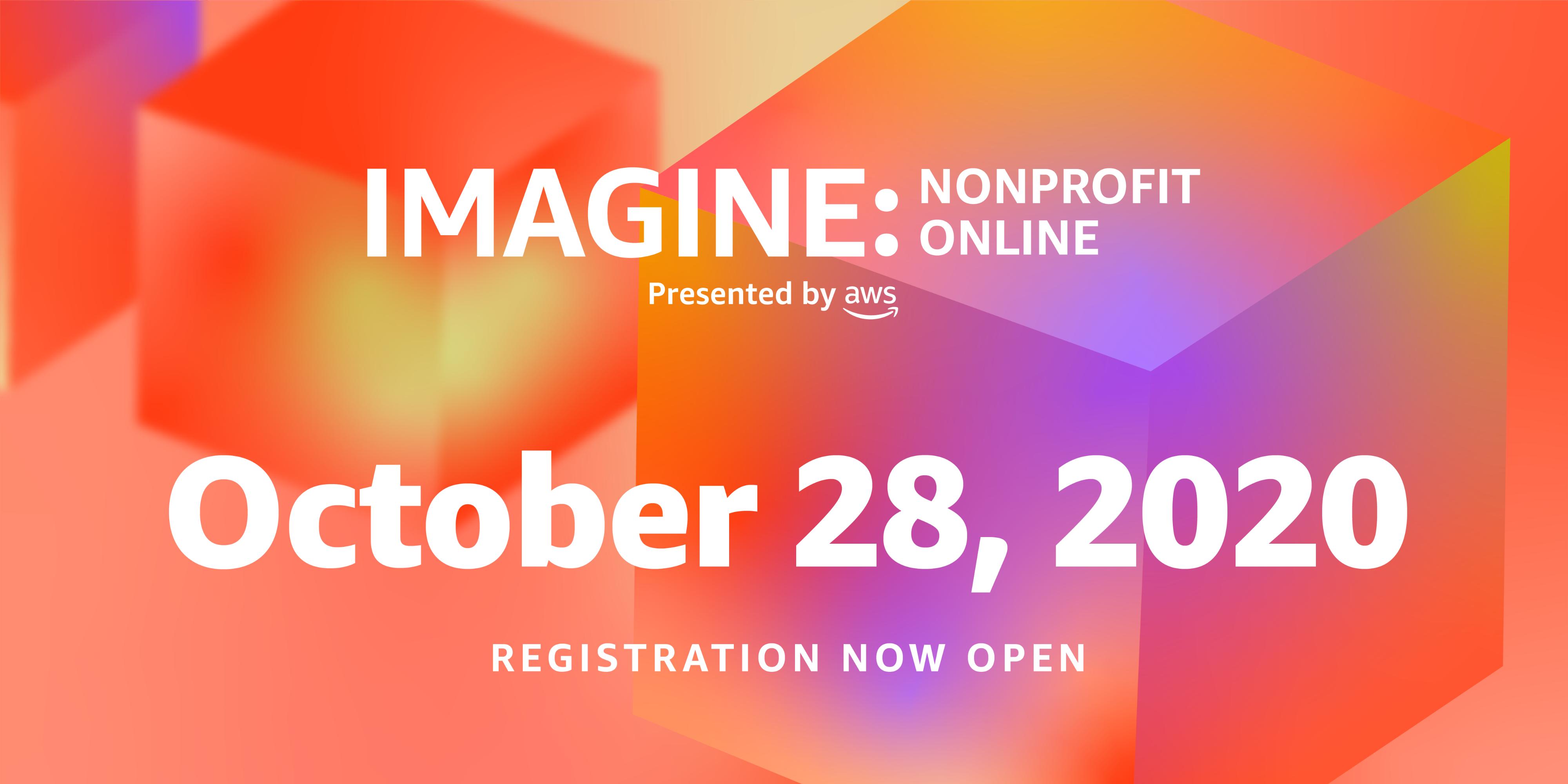 IMAGINE Nonprofit Online Conference October 28 2020
