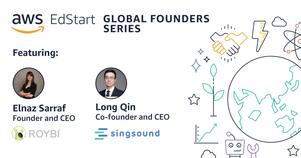 AWS EdStart_Global Founders_Blog Graphic_Roybi and singsound