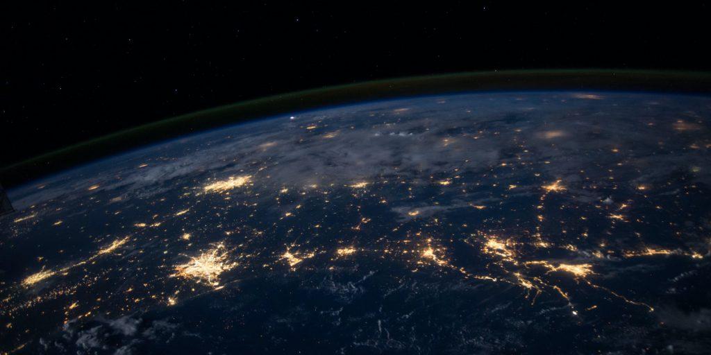 earth connections light blockchain