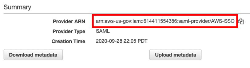 SAML AWS SSO 6