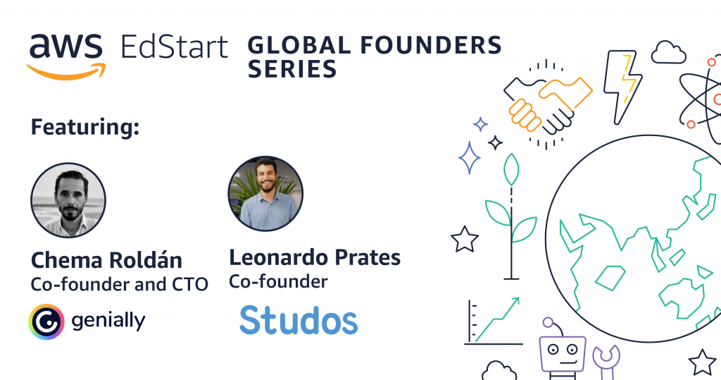 AWS EdStart_Global Founders_Blog Graphic_Genially_Studos