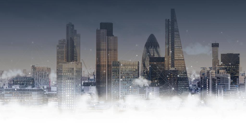 AWS City on a Cloud competition 2020 city skyline