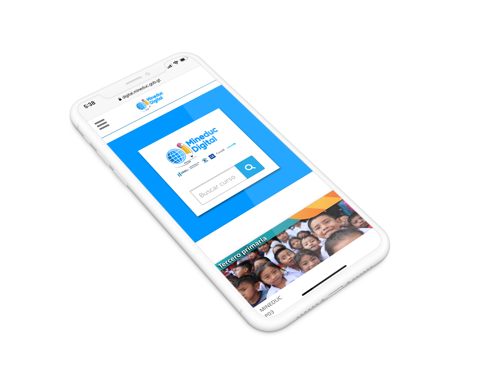 Mineduc Digital online platform