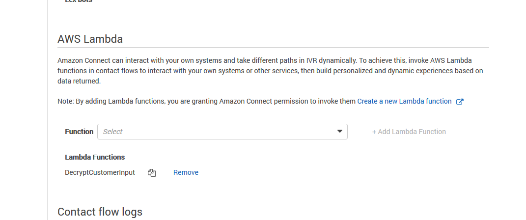 Creating a secure IVR solution with Amazon Connect | AWS