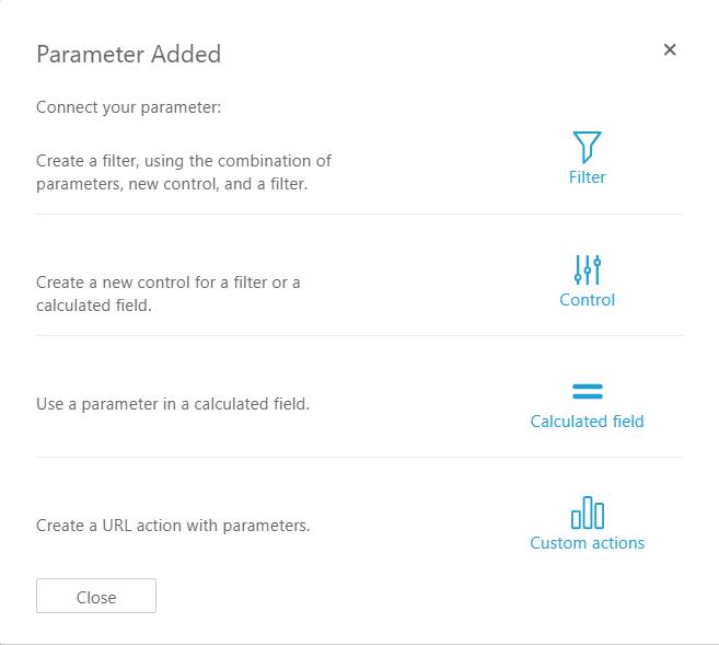 インパクトのある amazon quicksight のダッシュボードを パラメーター