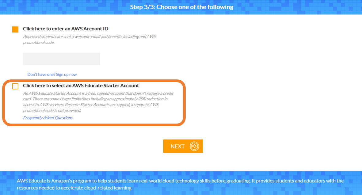 AWSアカウントが無い学生の方がAWS Educateに参加しCloud9を使う方法