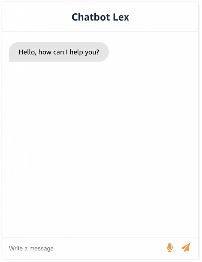Chatbot Lex