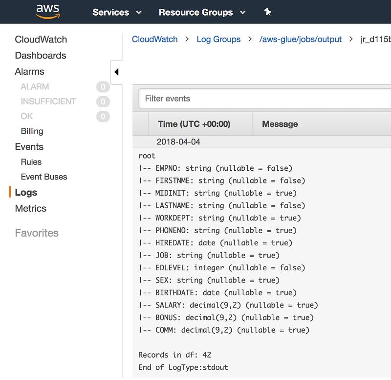 Use AWS Glue to run ETL jobs against non-native JDBC data