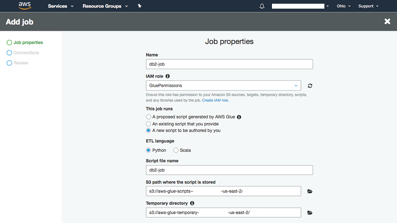 Use AWS Glue to run ETL jobs against non-native JDBC data sources