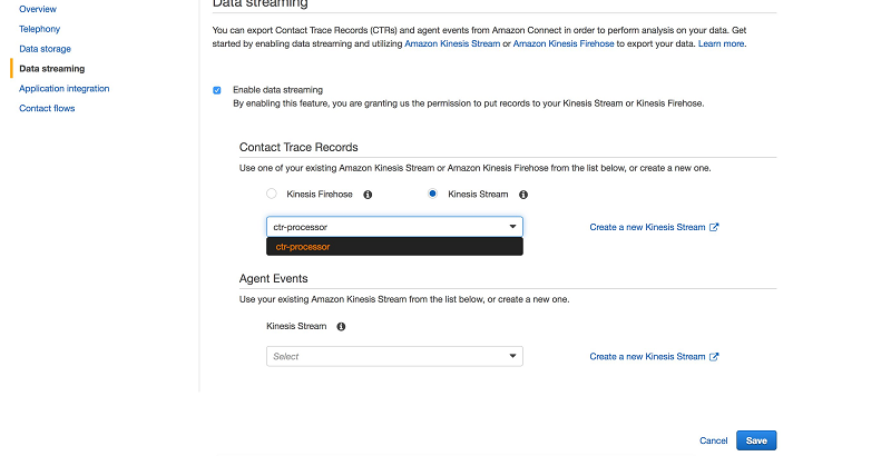 Analyze amazon connect records with amazon athena aws for Cloudformation template generator