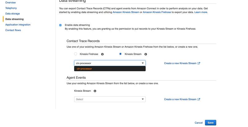 cloudformation template generator - analyze amazon connect records with amazon athena aws