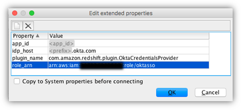 Federate Amazon Redshift access with Okta as an identity