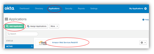 Federate Amazon Redshift access with Okta as an identity provider
