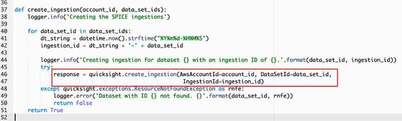 spice datasets in quicksight 16