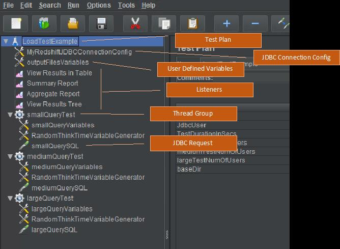 The following screenshot provides a close up of the building block tree.