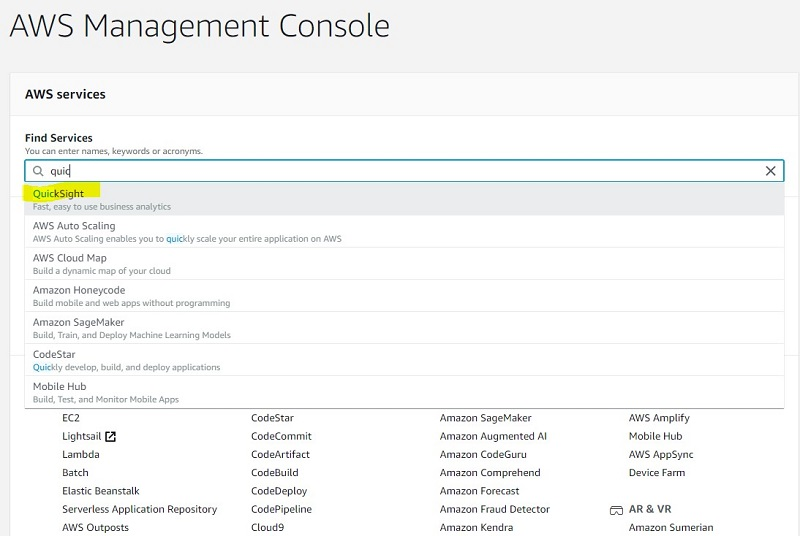 You can set up QuickSight access for end users through SSO providers
