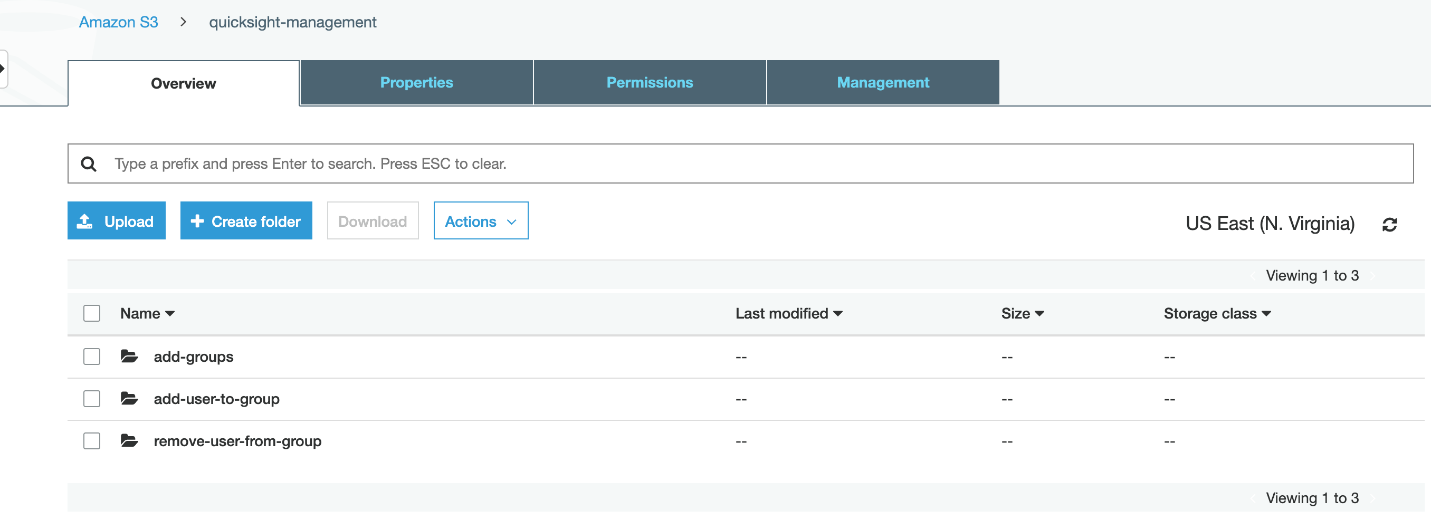 Automating Amazon QuickSight user and group management 43