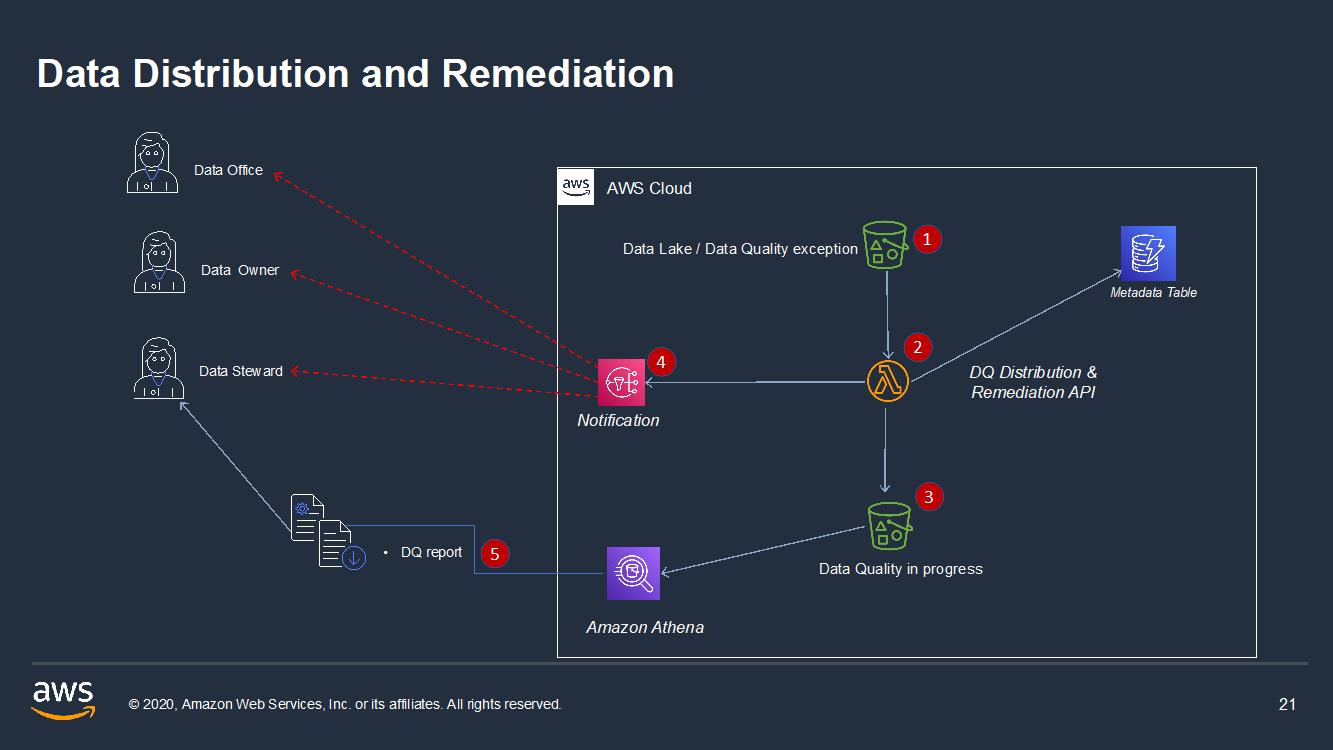 Data distribution and remediation
