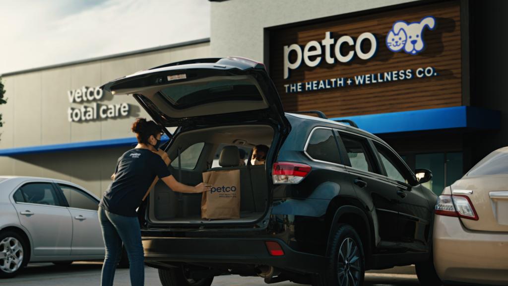 Petco curbside pickup